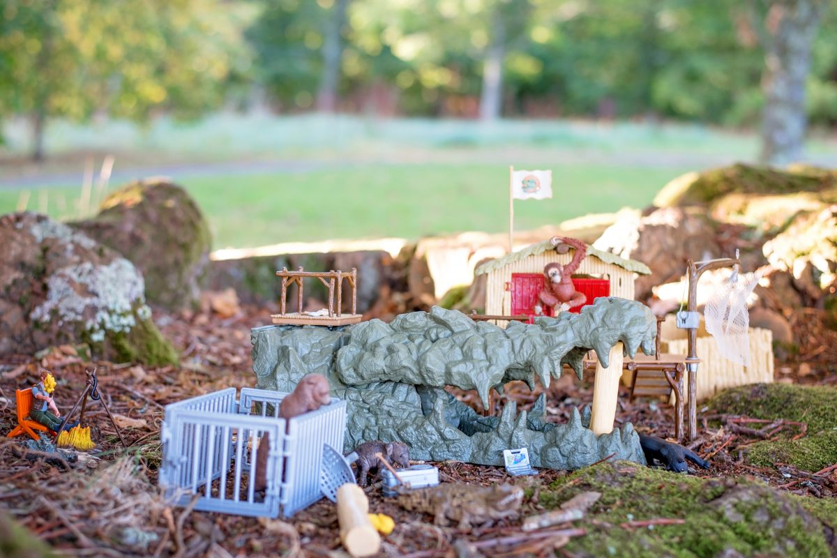 Schleich Croco Jungle Research Station #SCHLEICHANIMALMAGIC BEAR