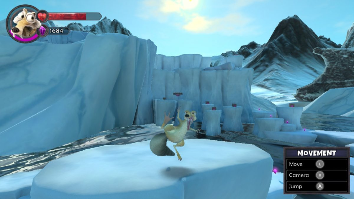 KUNG FU SCRAT SHOWS HIS MOVES IN ICE AGE SCRAT'S NUTTY ADVENTURE
