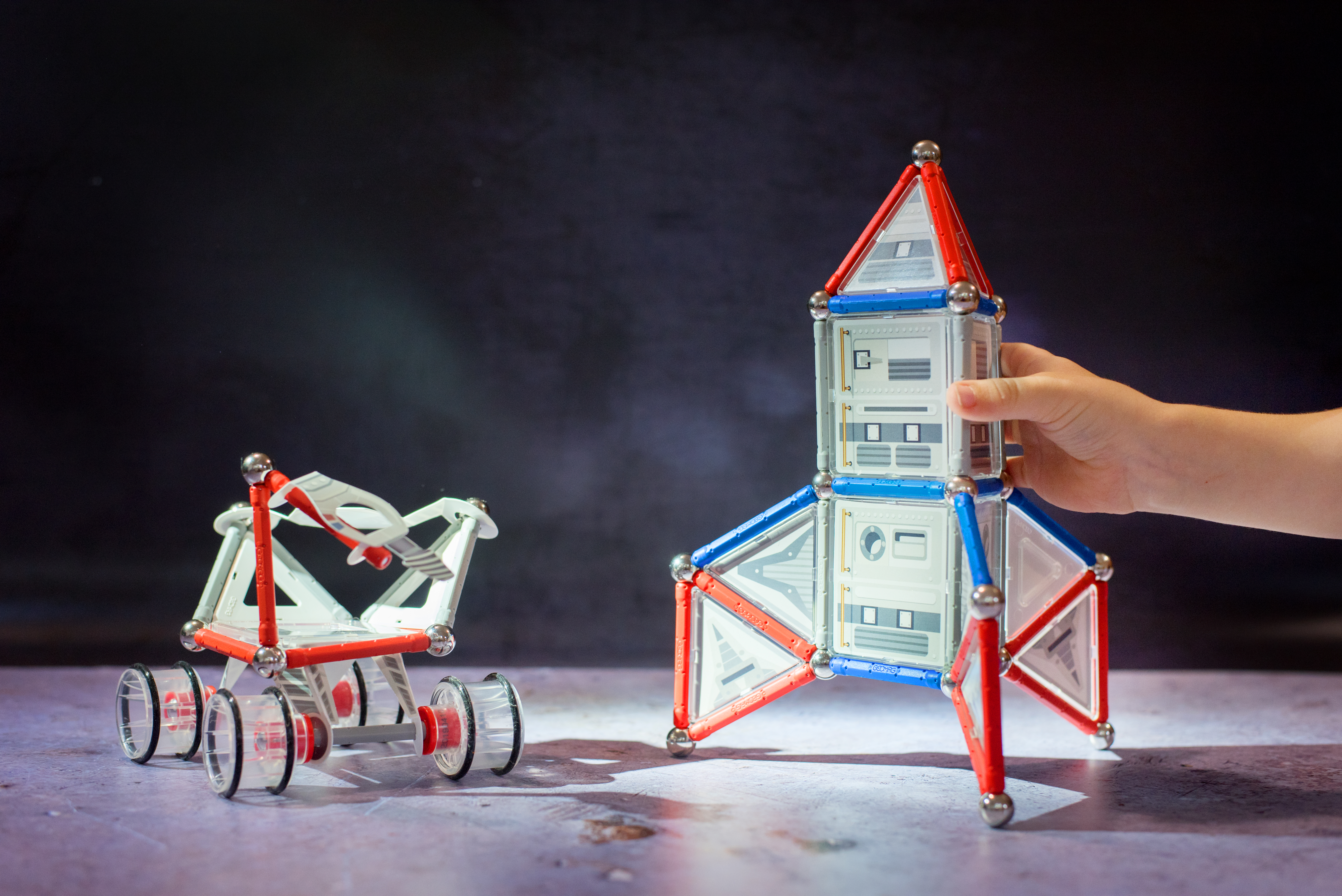 GEOMAG SPECIAL EDITION NASA ROCKET AND ROVER GIVEAWAY