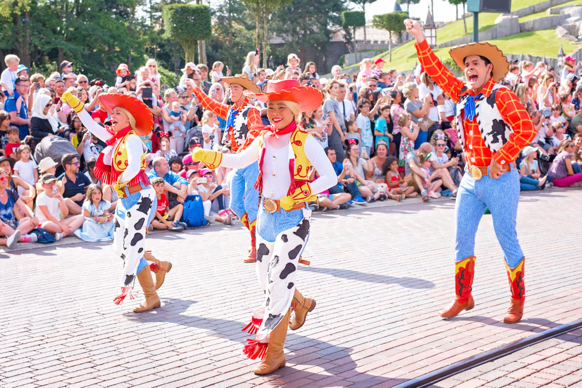 toy story dancers