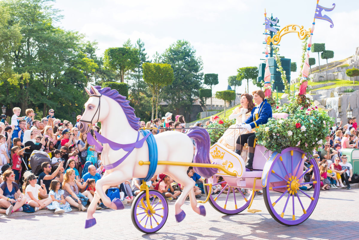 beauty and the beast parade