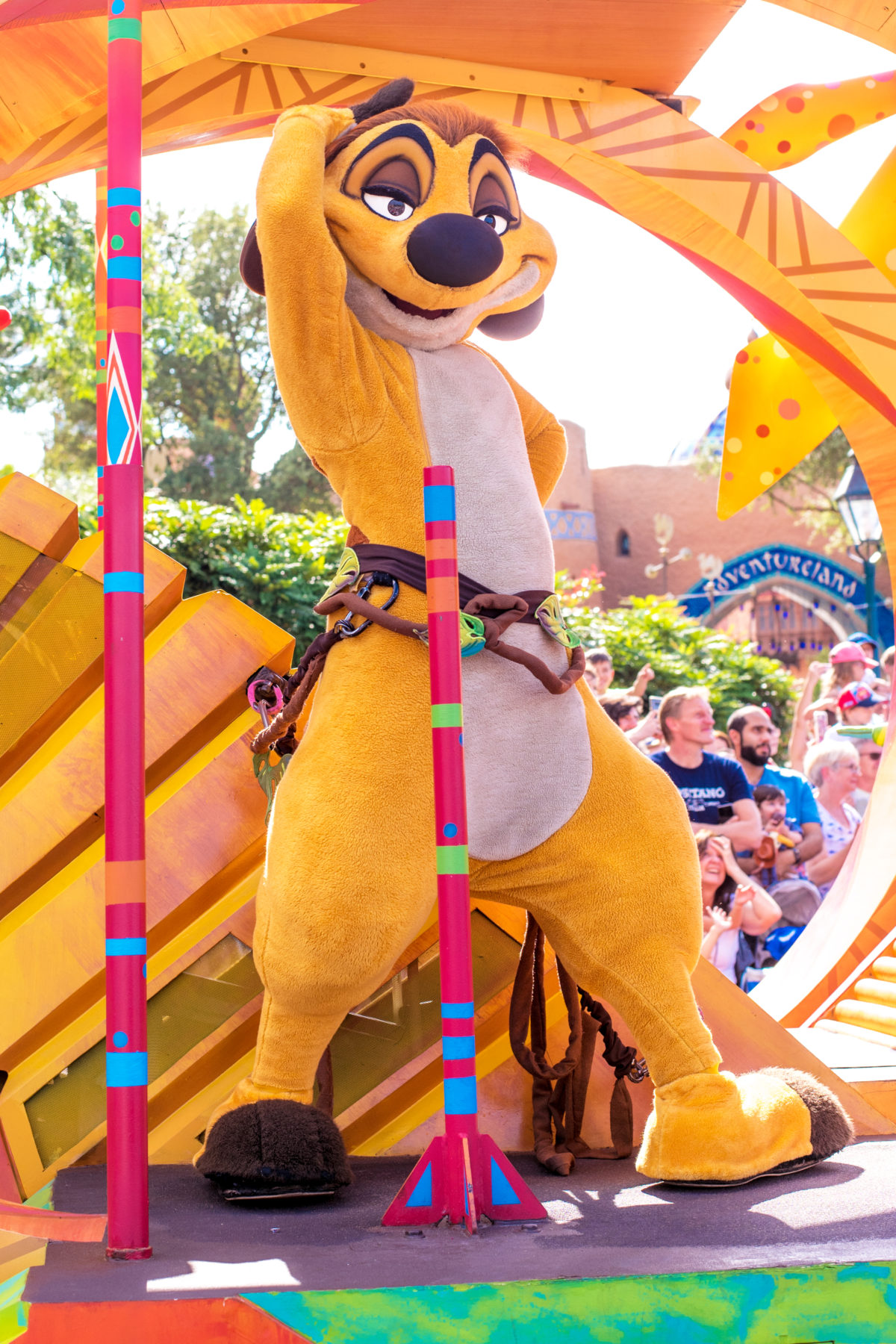 timon lion king parade disneyland paris