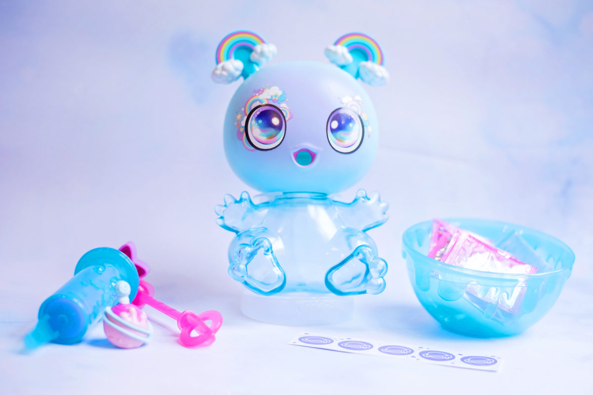 What's in the Goo Goo Galaxy Slurp 'n' Slime Goo Drop Set