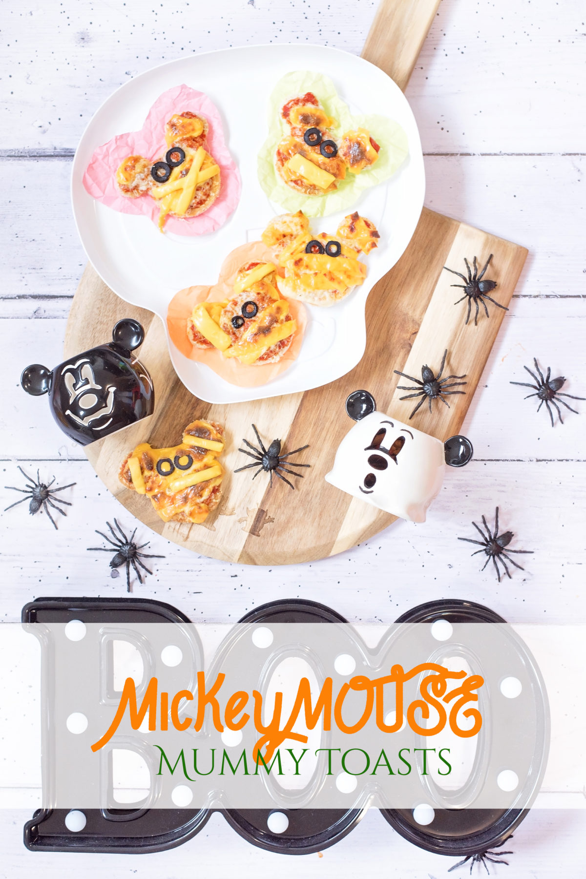 mickey mouse FUN FOOD mummy pizza toast