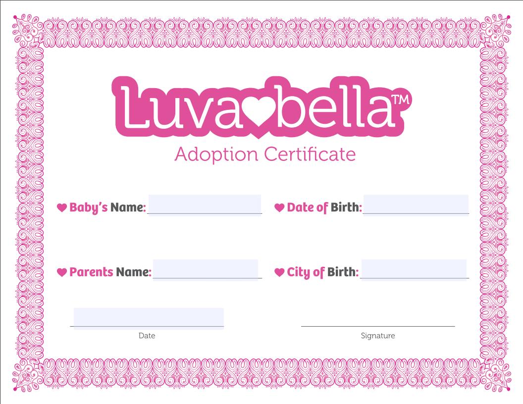 luvabella birth certificate