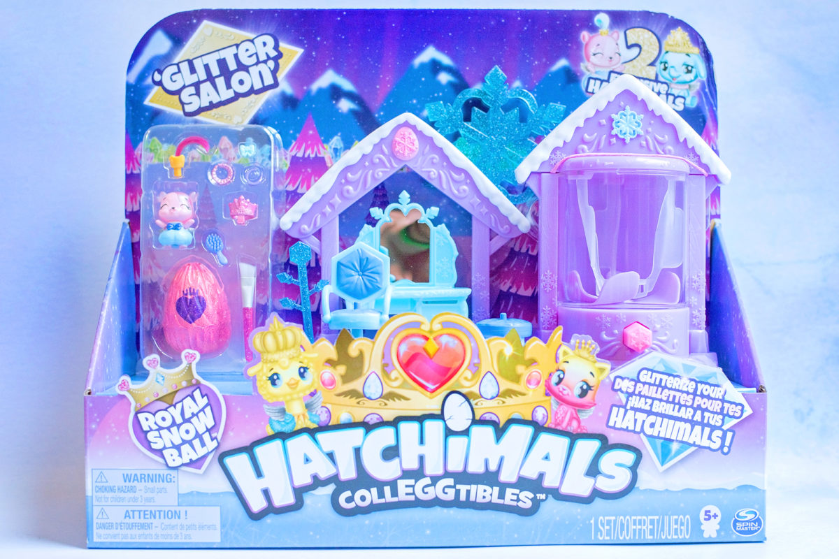 Hatchimals Glitter Salon Playset boxed