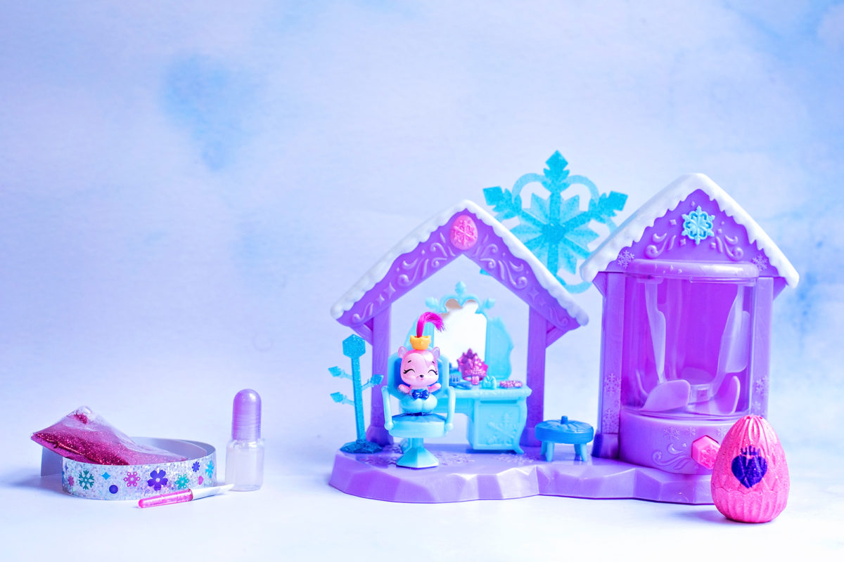 Hatchimals Glitter Salon Playset