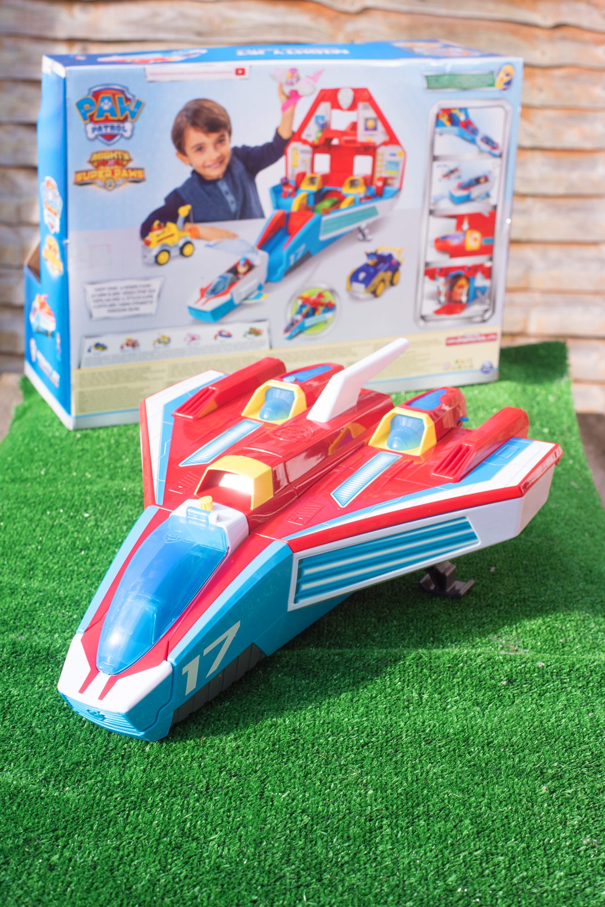 Paw Patrol Super Pups Mighty Jet Command Centre and Box