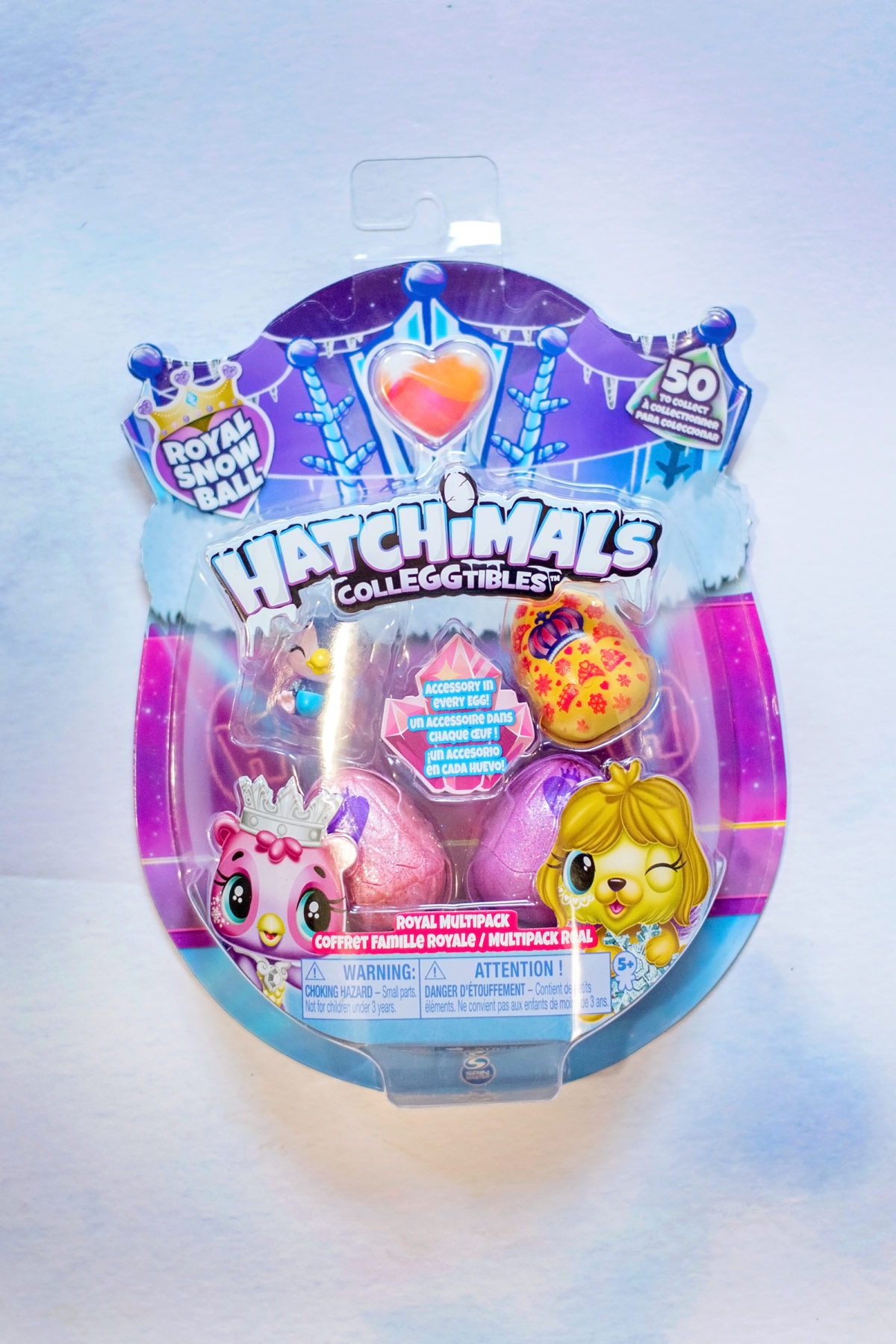 Royal Snow Ball Hatchimals CollEGGtibles - Season 6.5!