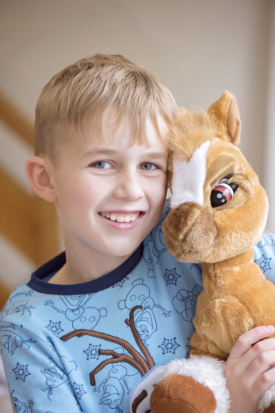 toffee the pony emotion pet and cuddles