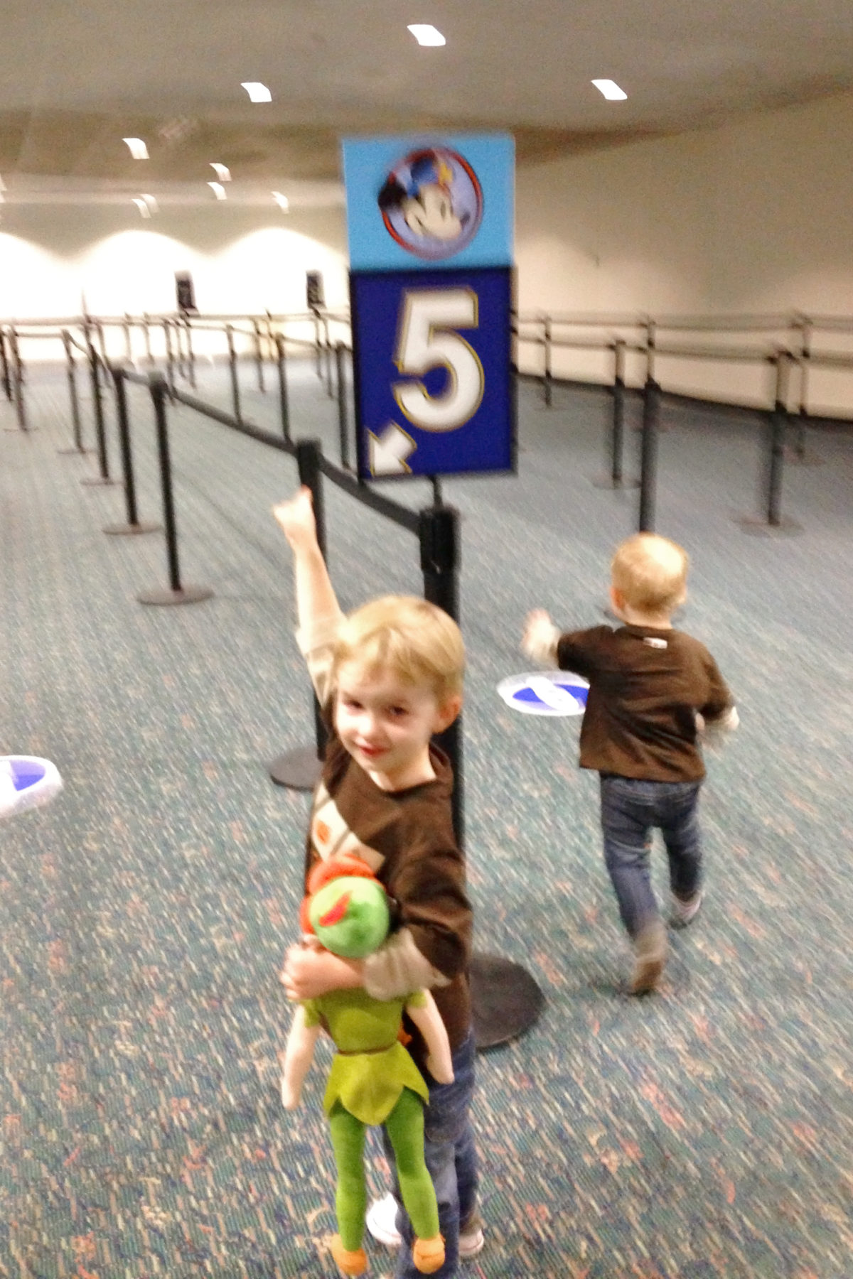 Check in at MCO for Disney's Magical Express