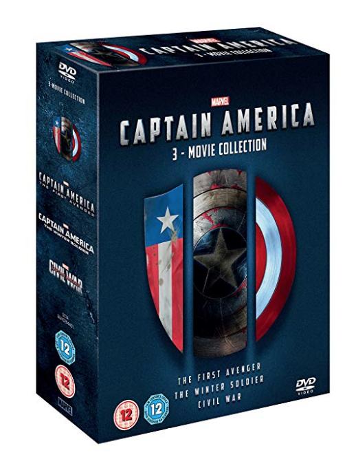 Captain America Box Set DVD
