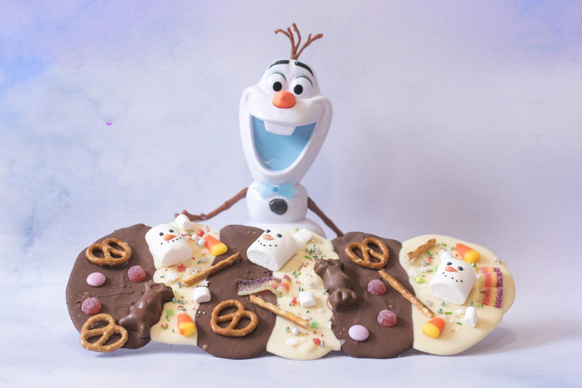 Olaf Chocolate puddle