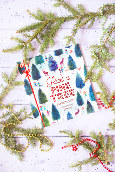 Pick a Pine Tree Christmas Book