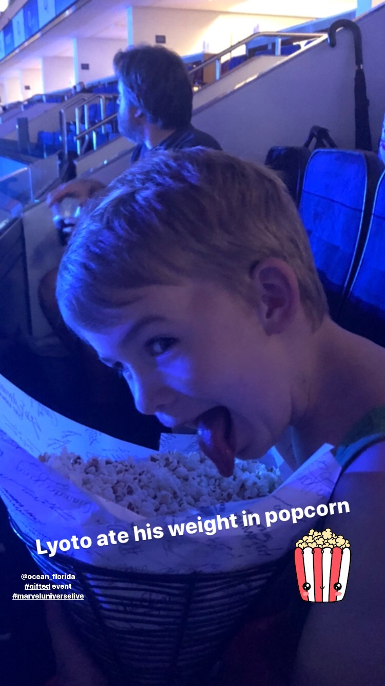 the popcorn at marvel universe live
