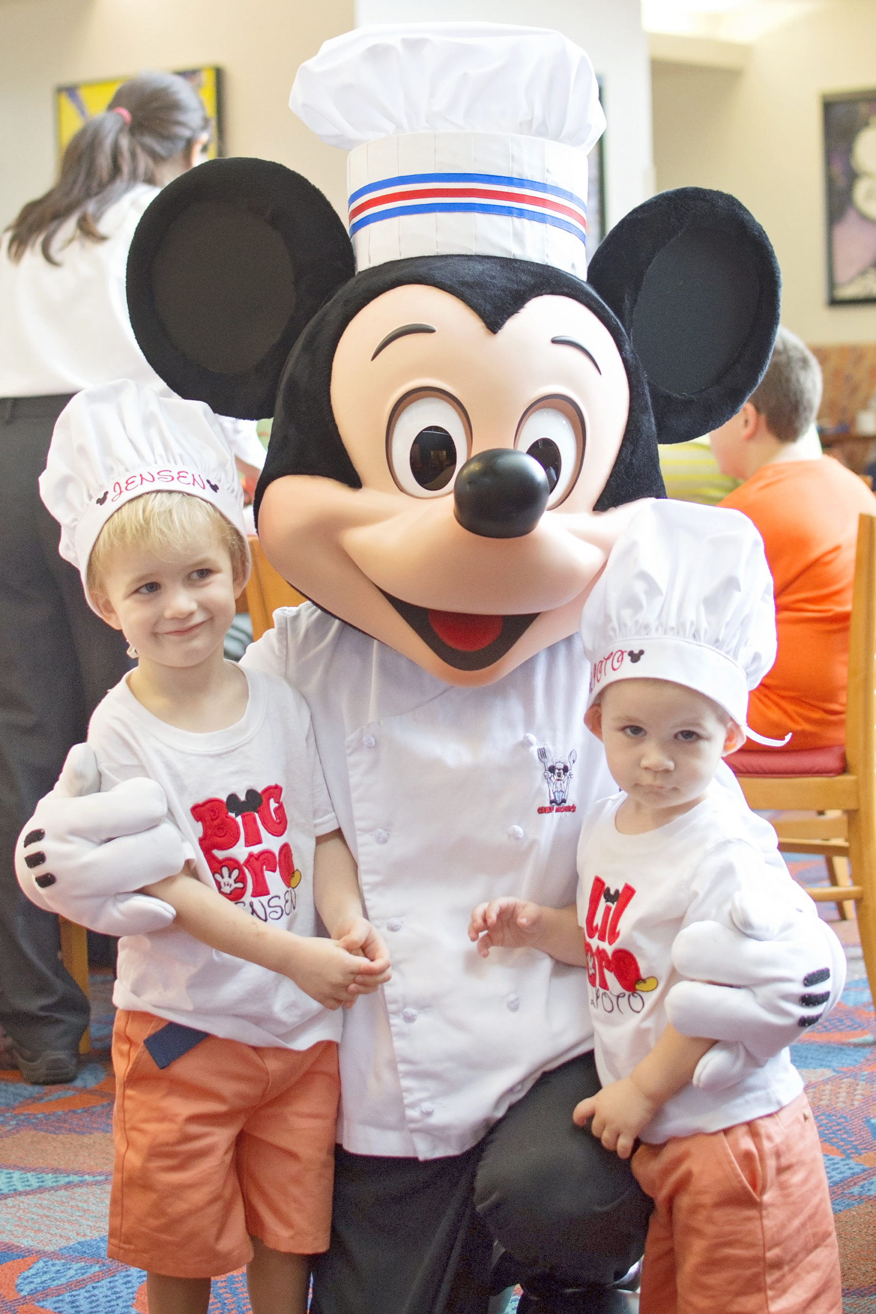 mickey in chef uniform