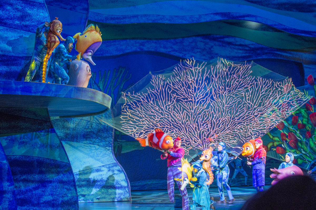 Finding Nemo the Musical Disney World