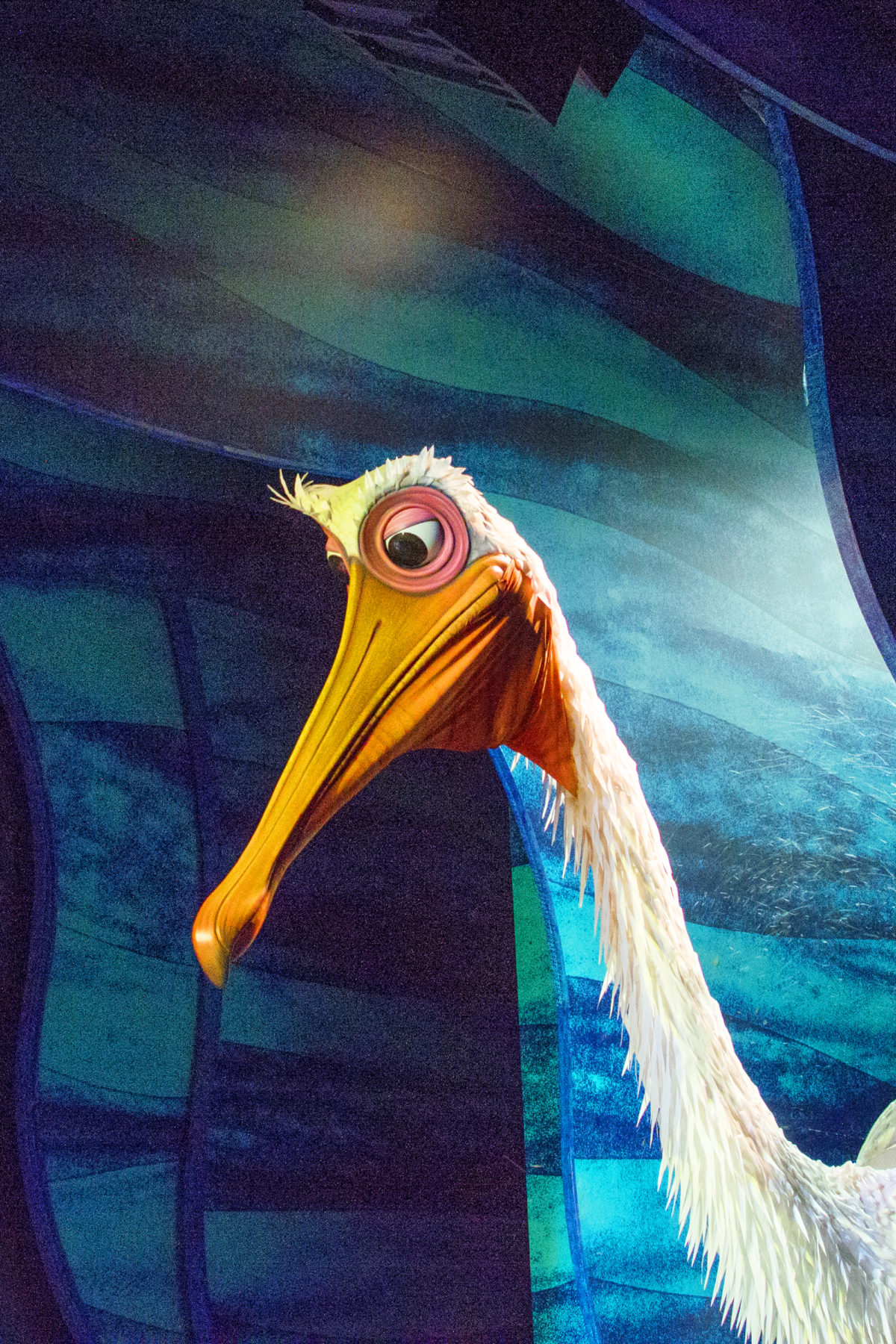 PELICAN FINDING NEMO DISNEY WORLD