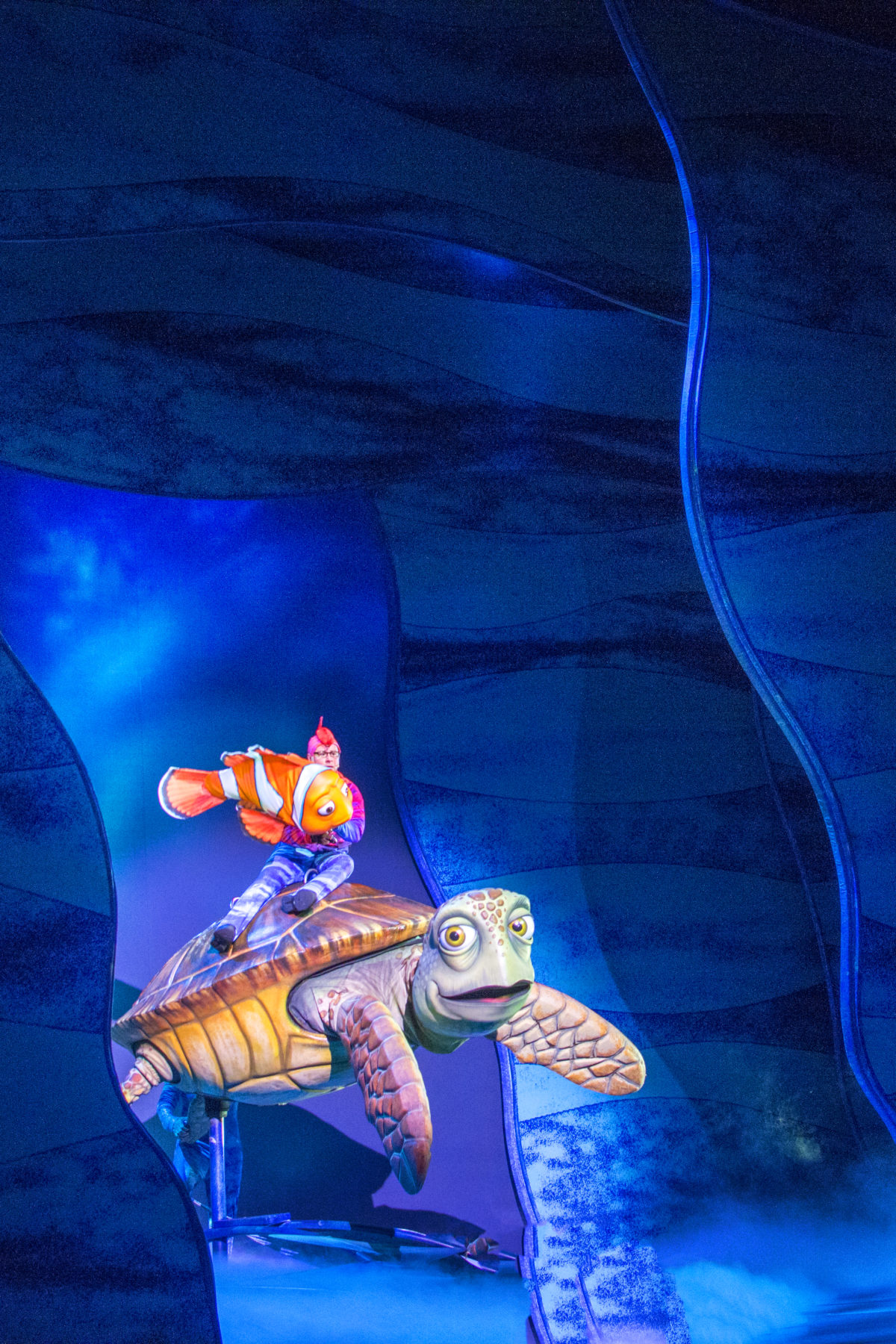 CRUSH THE TURTLE FINDING NEMO THE MUSICAL