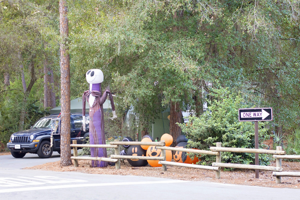 Disney's Fort Wilderness Resort at Hallowe'en