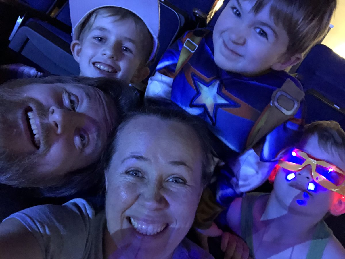 Keep Up with the Jones Family at Marvel Universe Live