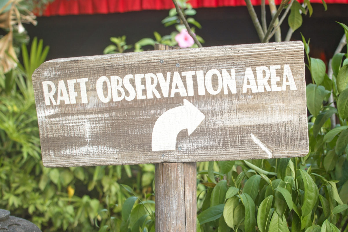 kali river rapids raft observation area
