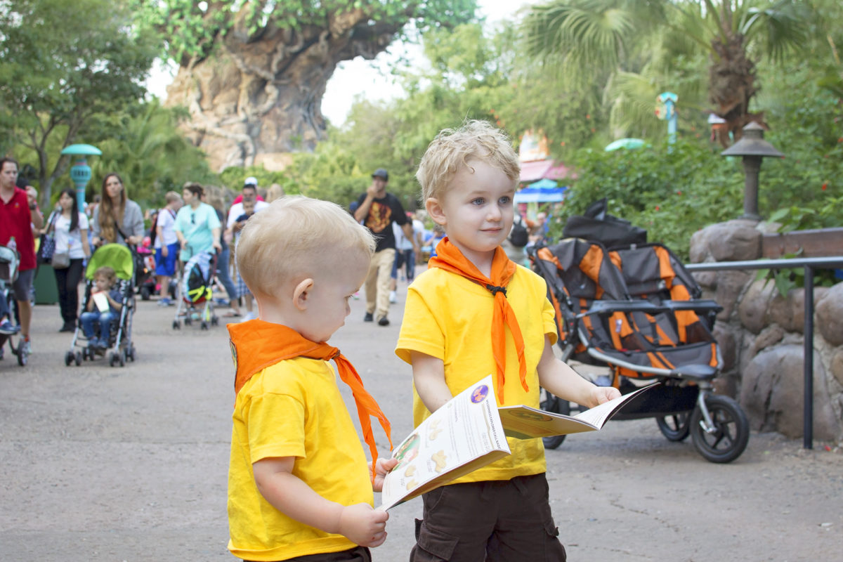 Learning the wilderness explorers club call