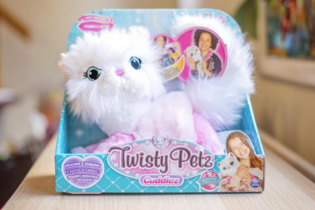 twisty petz cuddlez purrella in box kitty