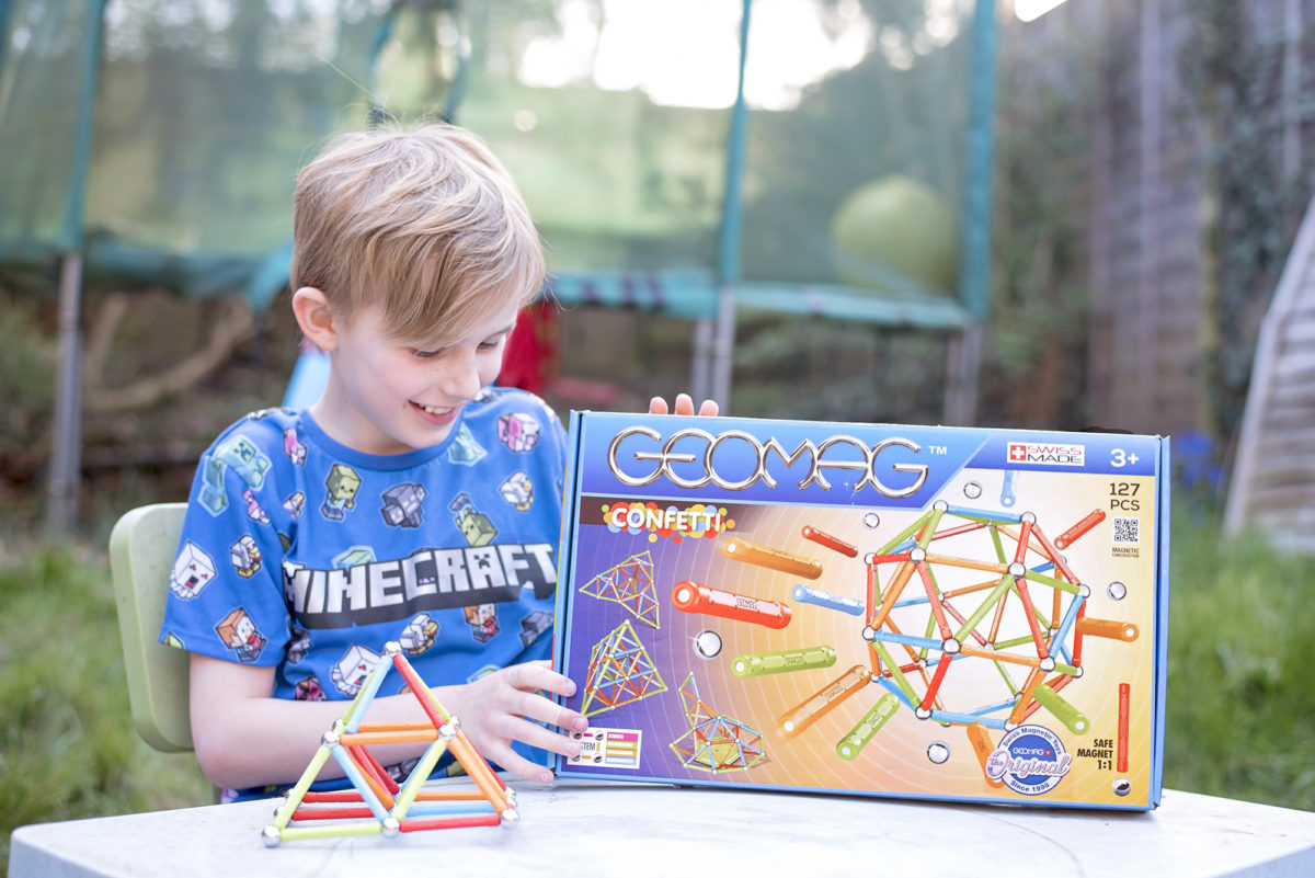 Geomag Confetti 127 STEM construction toy