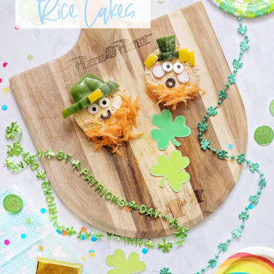LEPRECHAUN RAW VEGETABLE RICE CAKES
