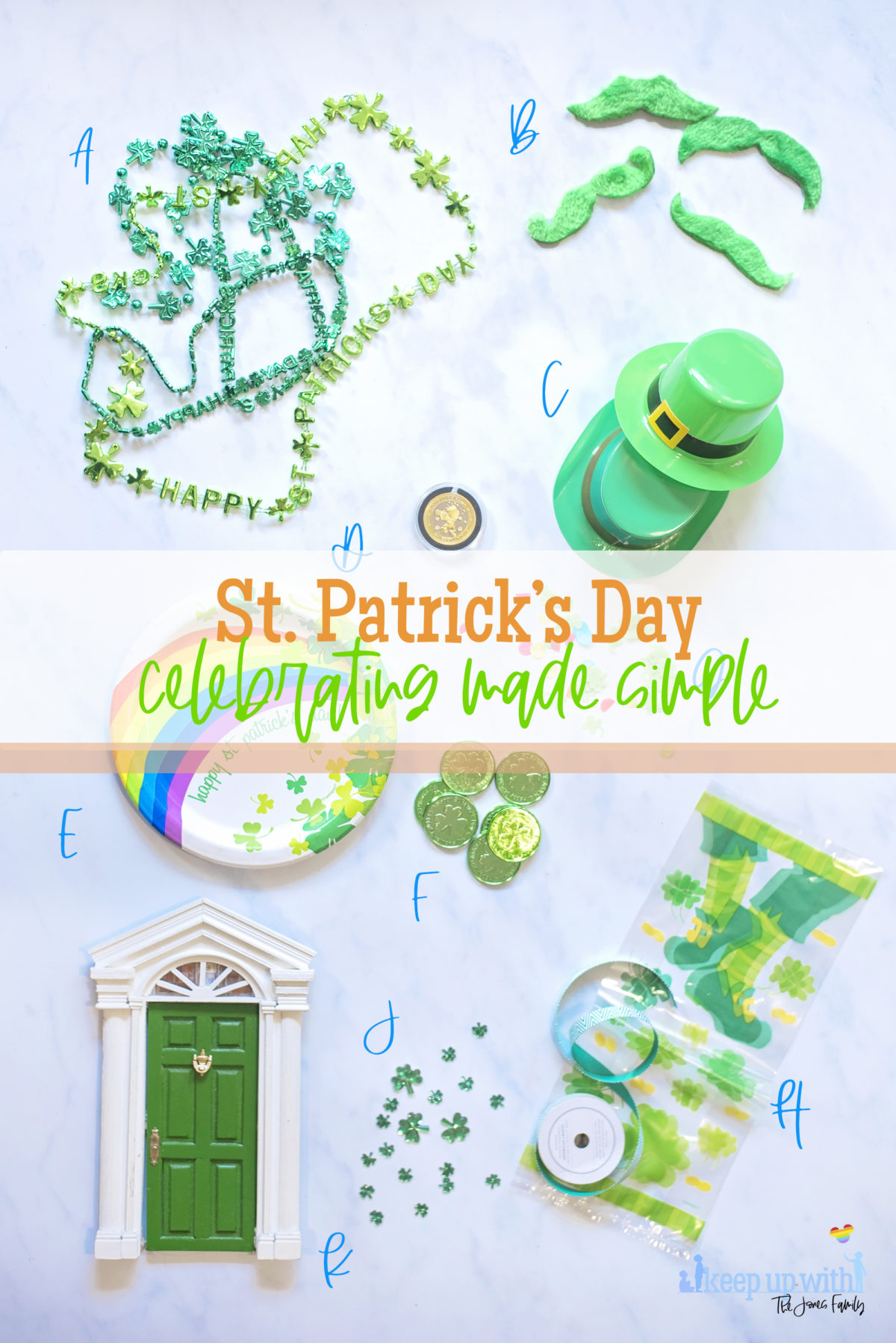 st. patrick's day celebrations party supplies