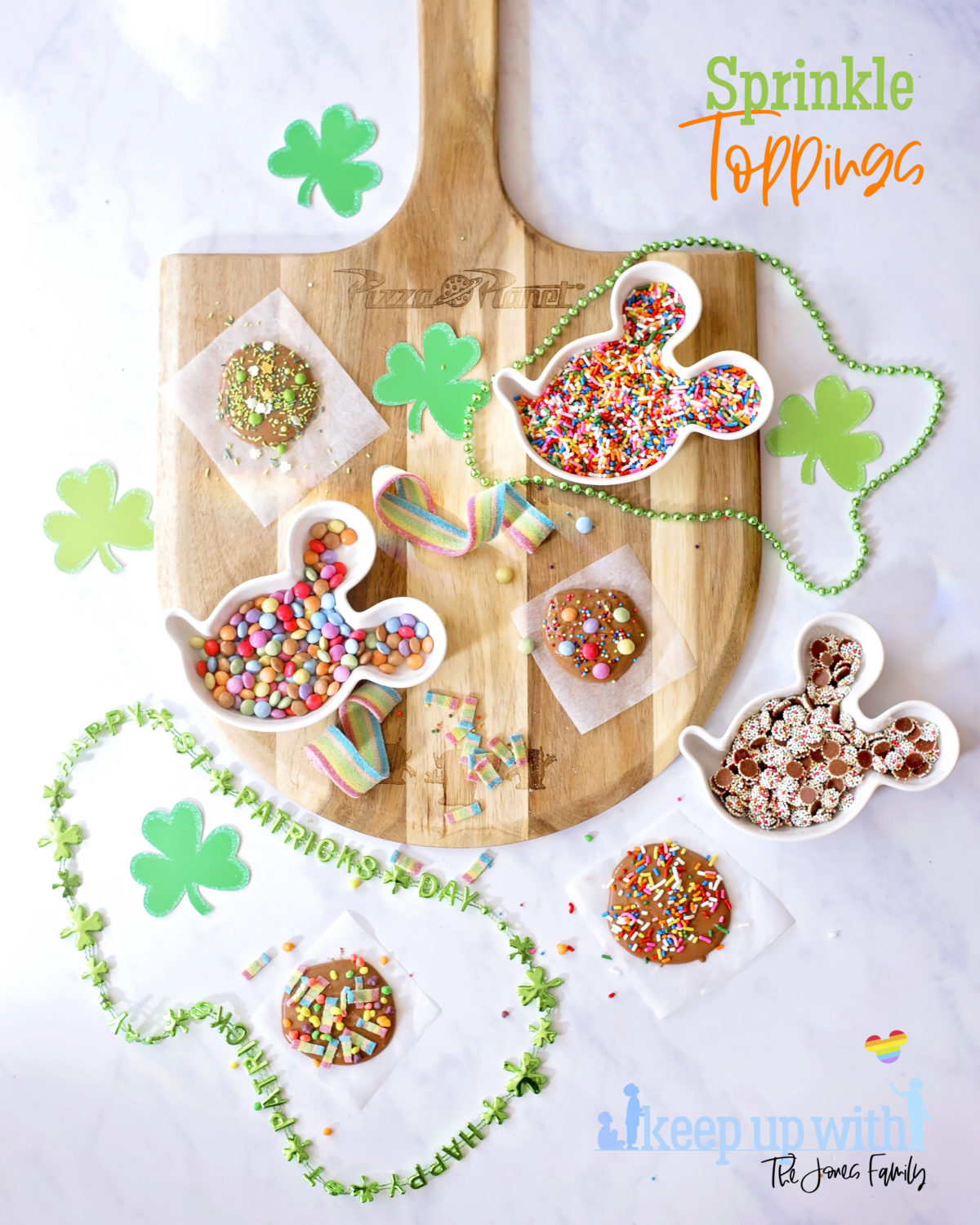 celebrate st. patrick's day fun food tutorial