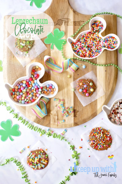 Leprechaun Chocolate Buttons St. Patrick's Day Craft Tutorial Fun FOod