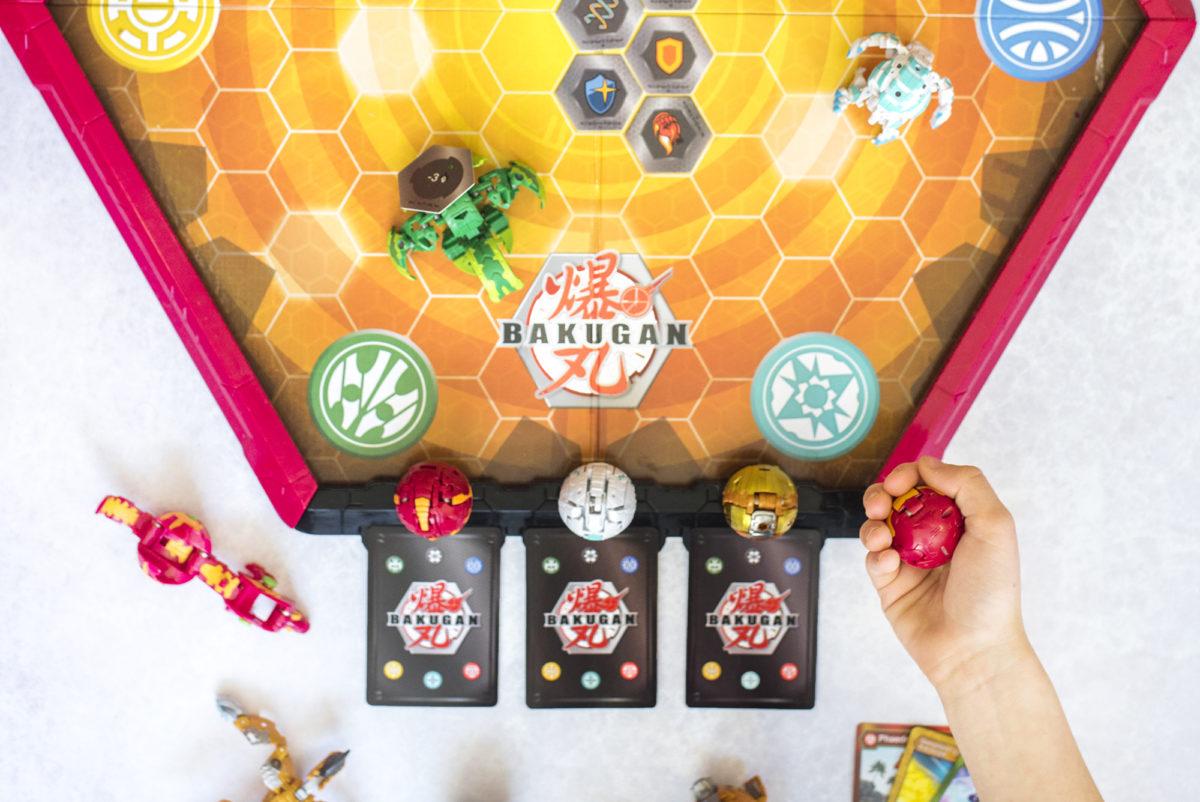 Game Set Up for Bakugan Battling Arena