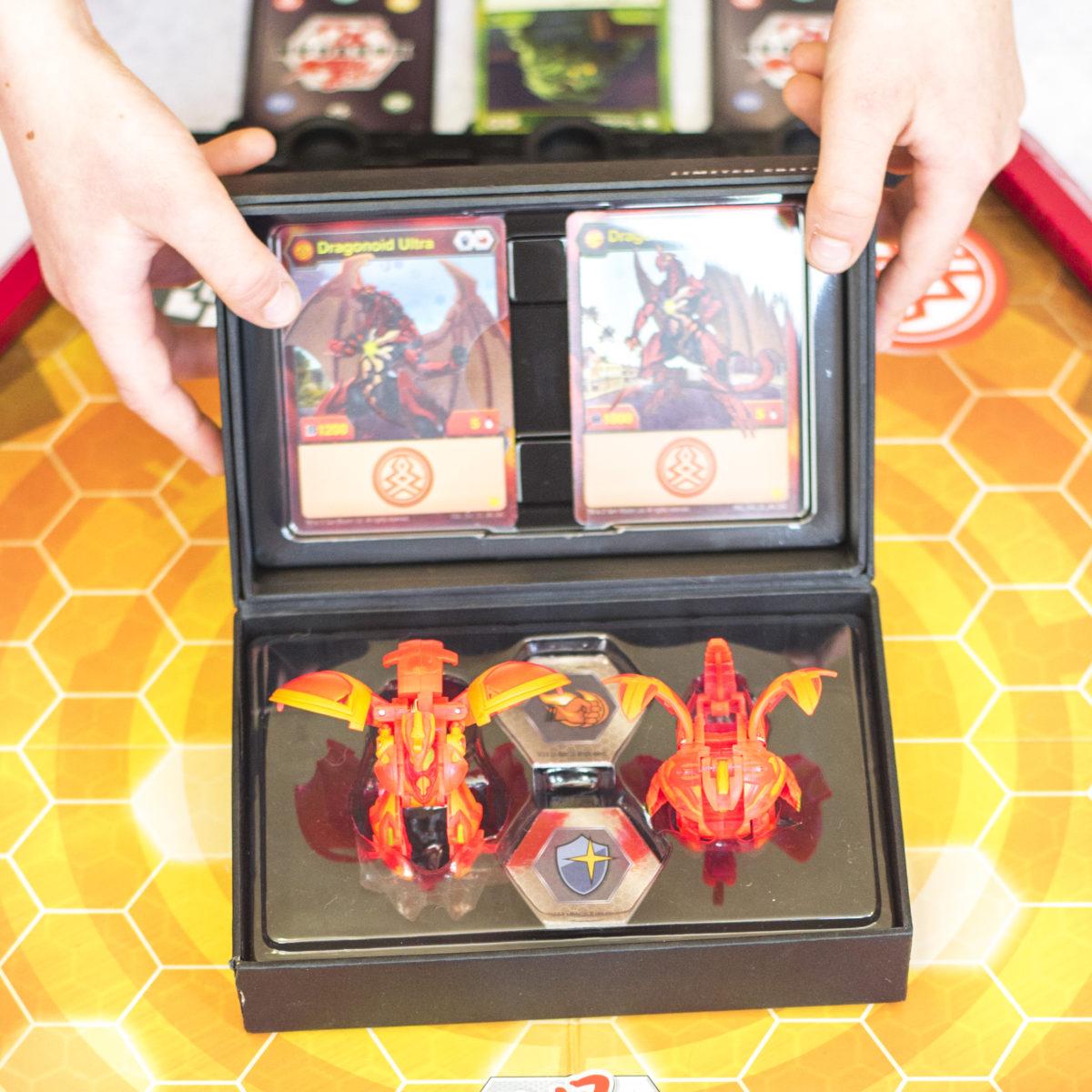 Limited Edition Dragonoid and Dragonoid Ultra Bakugan Bakuballs