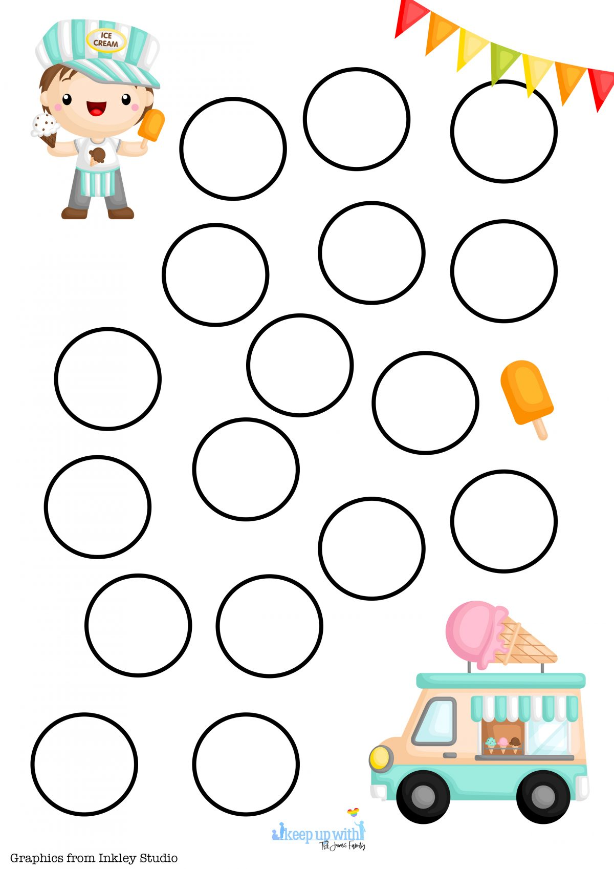 Simple and fun mental arithmetic template for addition and multiplication games.