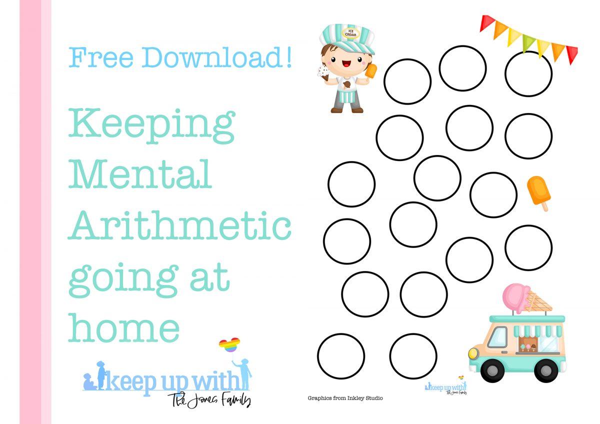 mental arithmetic games