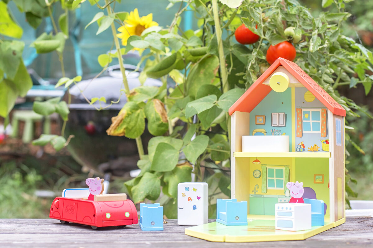 Wooden Peppa Pig Toys
