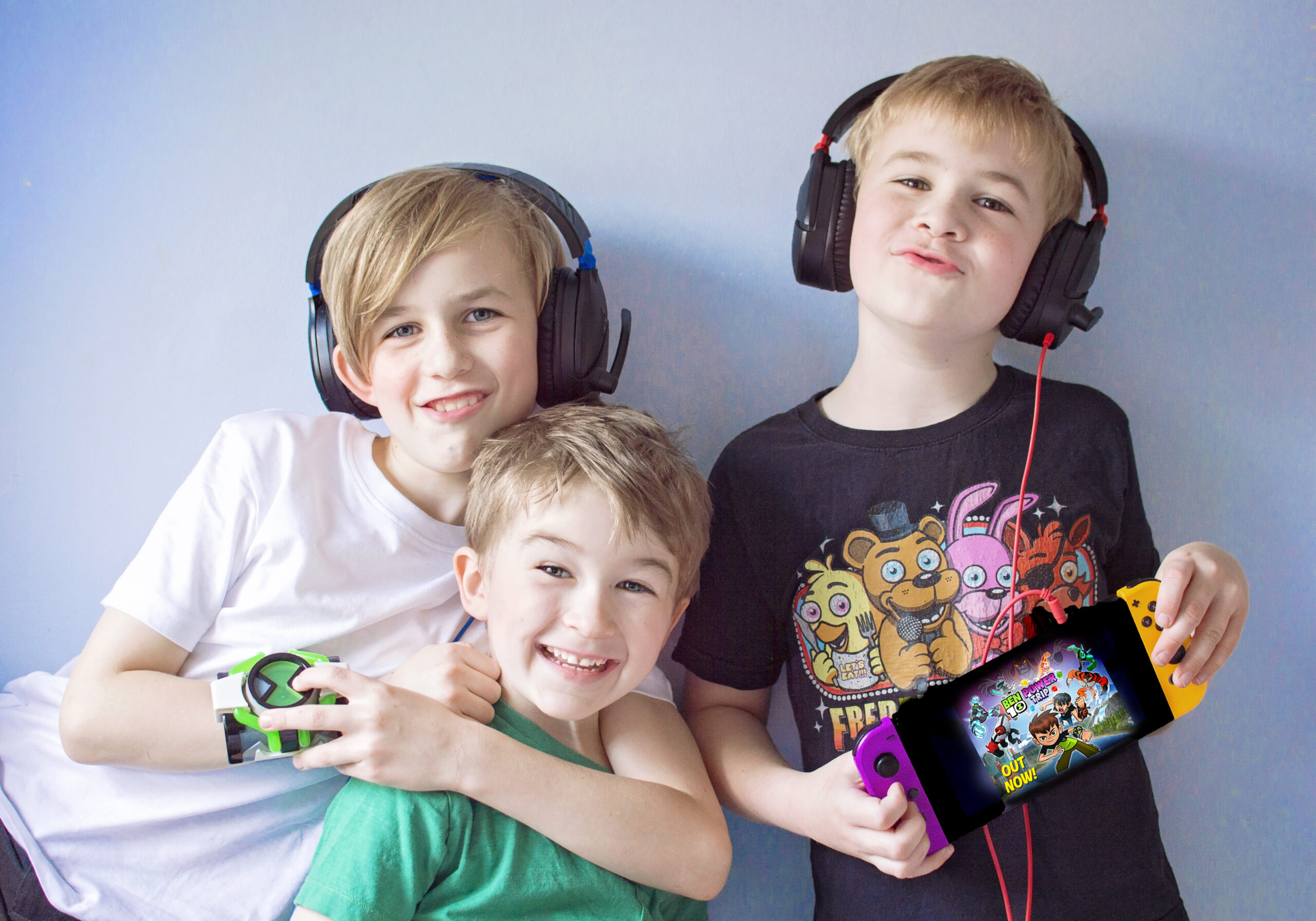 Ben 10 POWER TRIP: How to Host a Gaming Party