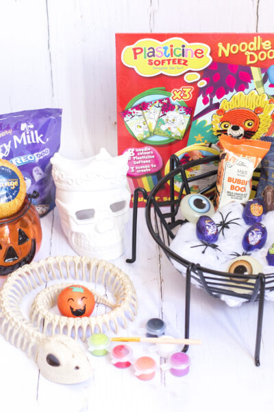 boo baskets treats for halloween