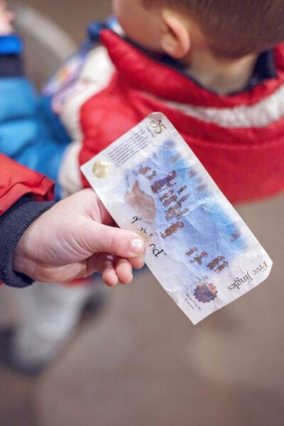 Lapland UK Jingles Christmas Money