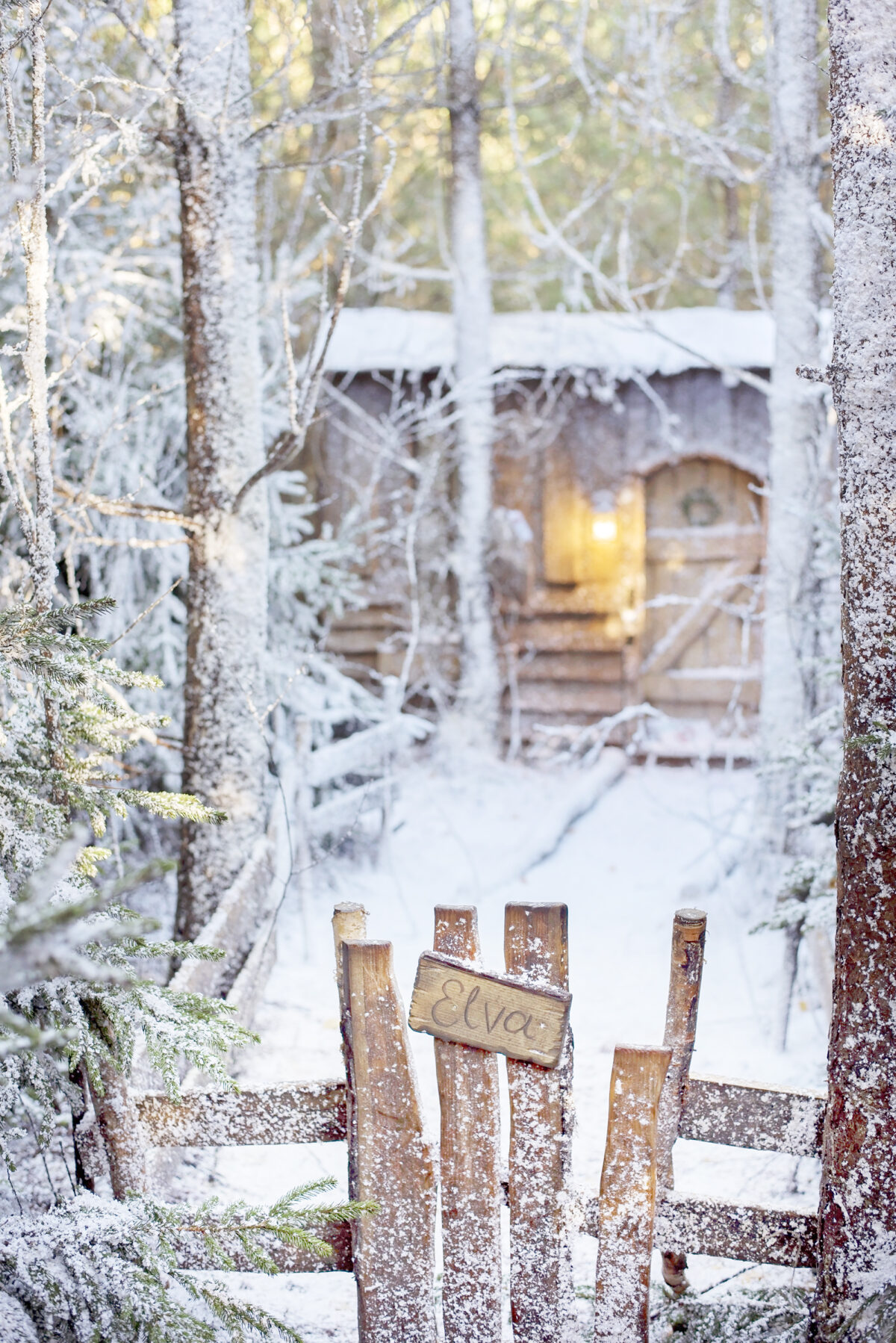 lapland uk elves cottage