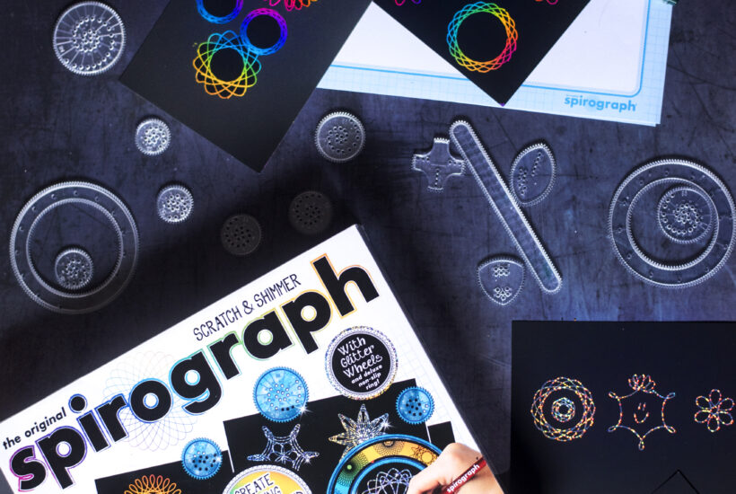 Spirograph toys from heritage brands