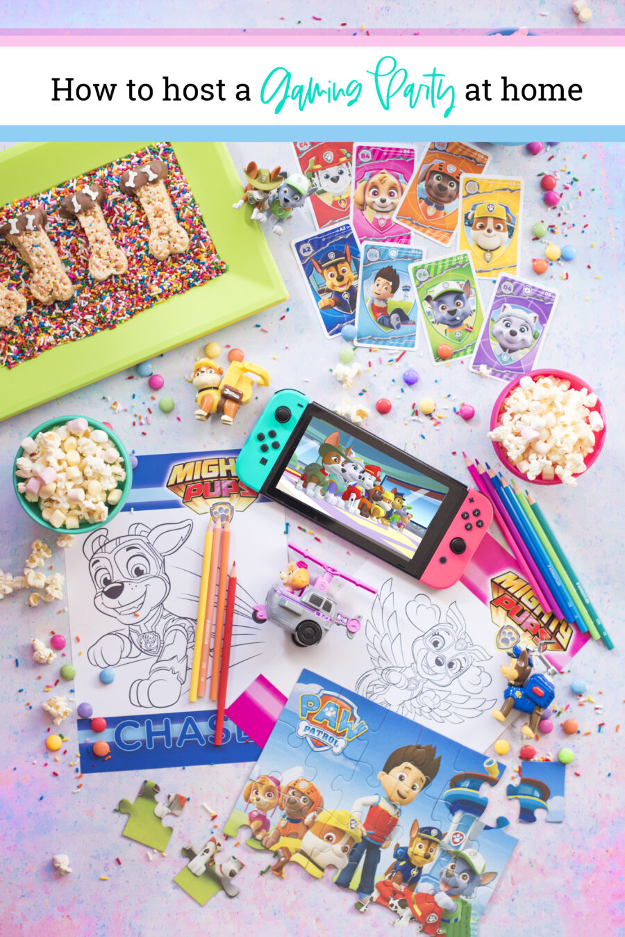 Paw Patrol Mighty Pups Save Adventure Bay: How to Host a Gaming Party