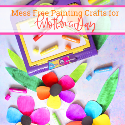 MOTHER'S DAY CRAFTS WITH LITTLE BRIAN PAINT STICKS