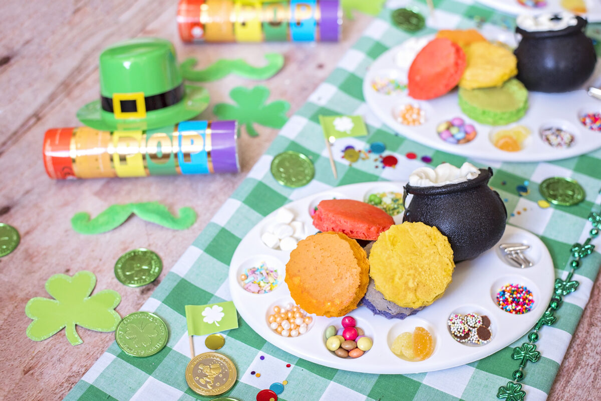 Rainbow Breakfast Ideas for Busy Moms, celebrate st. patrick's day