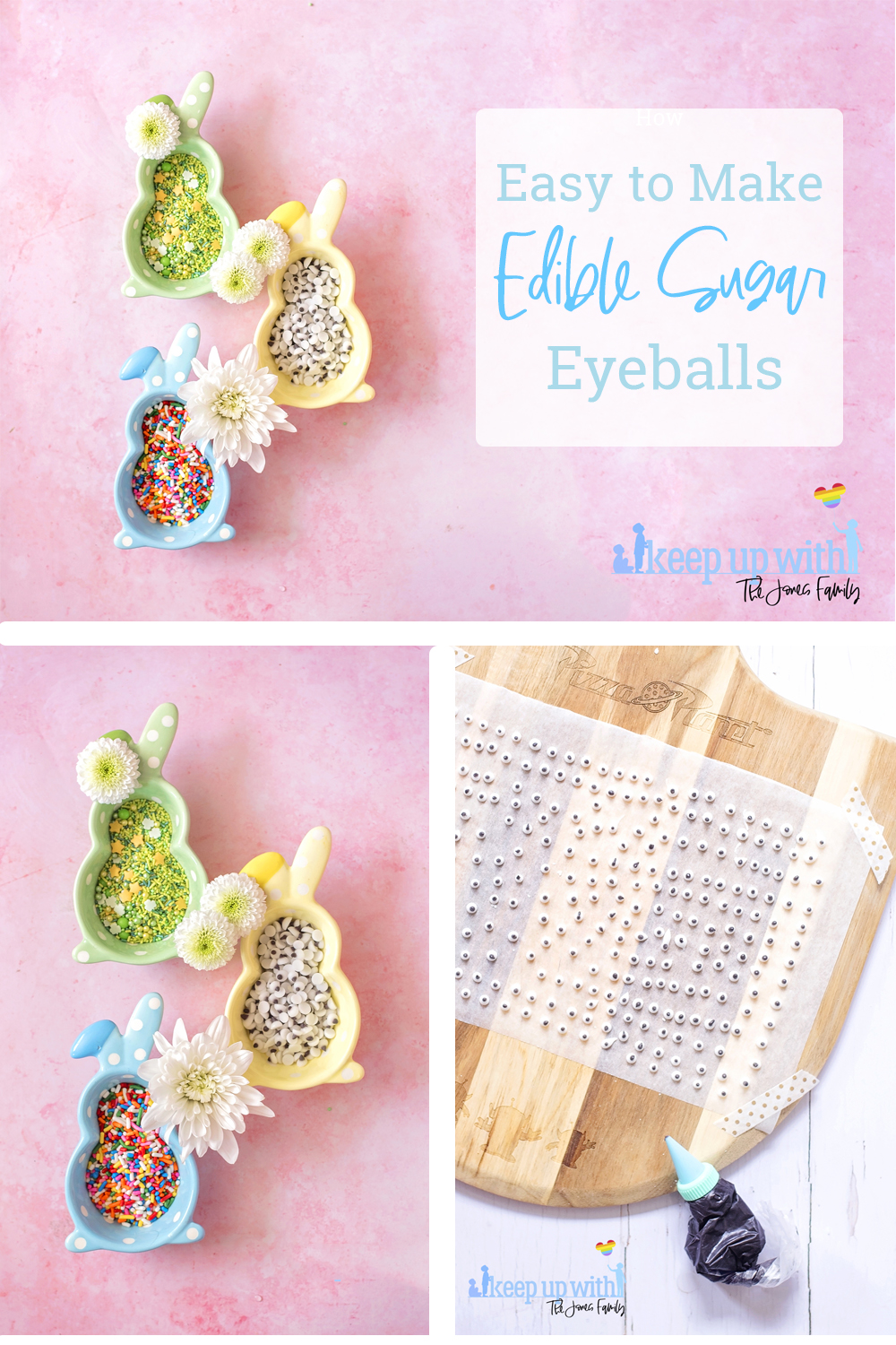 how to make easy edible eyeballs with sugar for fun food decorations