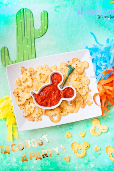 Mickey Mouse Chips 'n' Dip - Homemade Disney Food