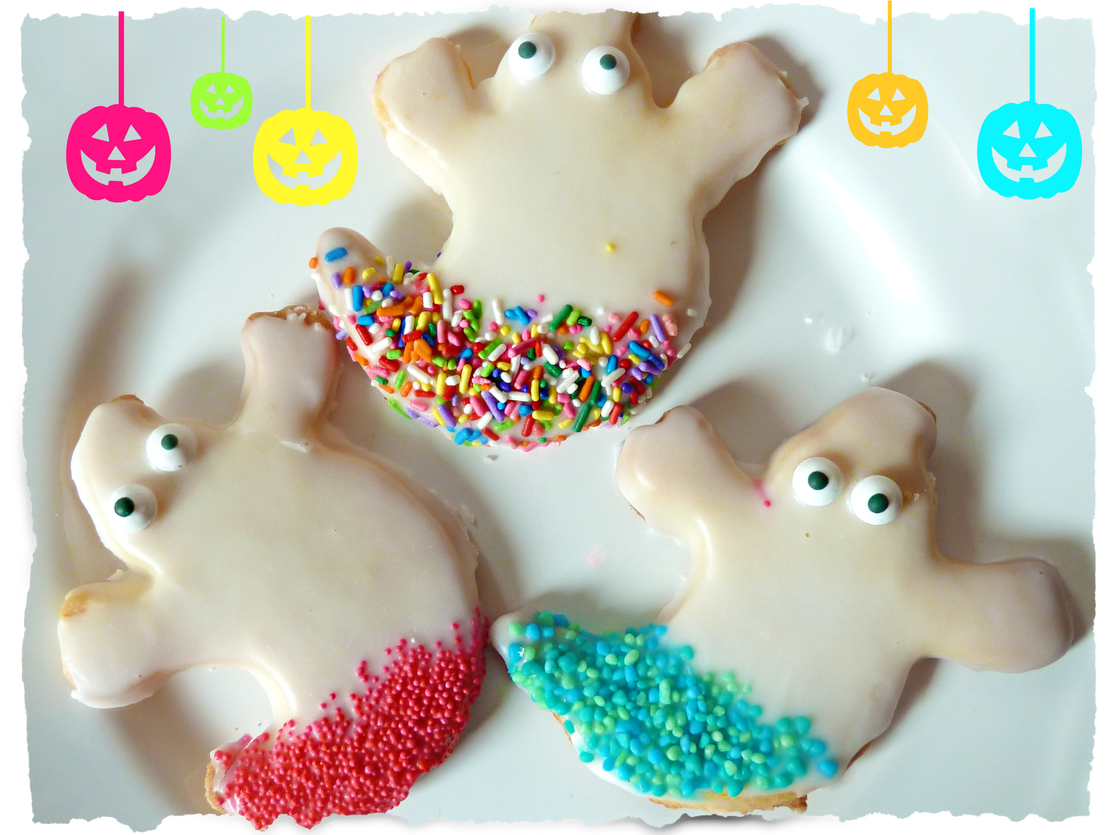 Ghostie Biscuits… Boo!