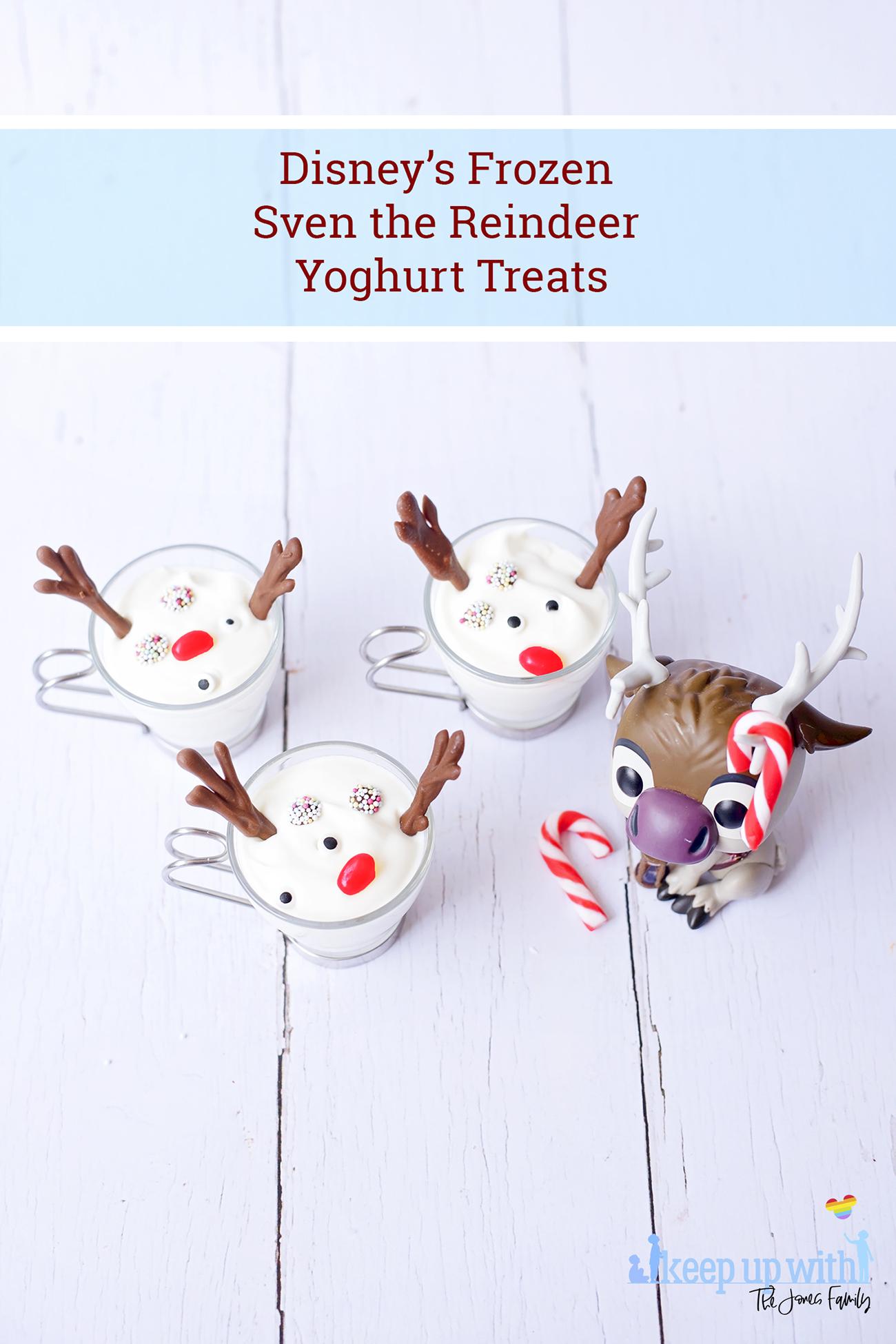 Disney's Frozen: Melted Sven the Reindeer Yoghurts